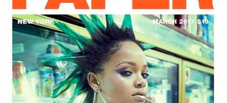蕾哈娜全新雜誌封面出爐!前衛造型網友驚呼看不懂!