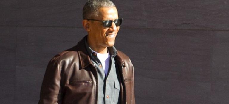哎唷!原來歐巴馬是個時尚大叔來的啦!退位後打扮超瞎趴!