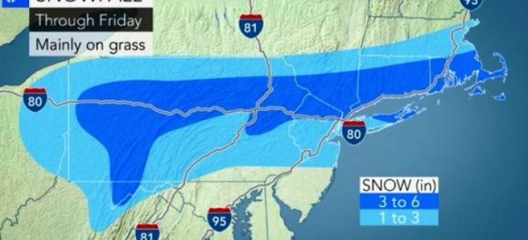 說好的春天呢?!紐約三月中旬再迎暴雪:氣溫將持續零度以下!