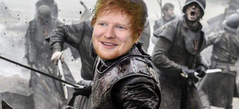 確認了!Ed Sheeran將加盟最新一季《權力的遊戲》,竟是為了….