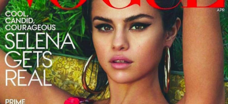 Selena拍全新四月Vogue!宣告:我長大了!