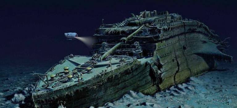 『視頻』想要一窺沈在深海當中的鐵達尼號真面目?花個一千美金帶你潛入海底!