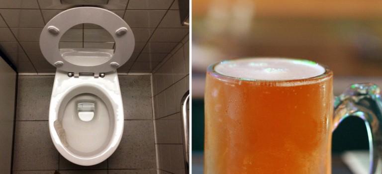 What!加州啤酒廠推出廁所水釀造的啤酒😱 不喝不是兄弟