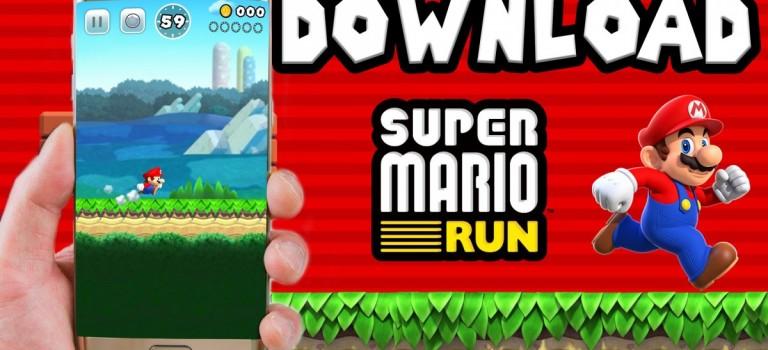 瑪莉兄弟Super Mario Run即將跑到安卓市場,你會下載嗎?