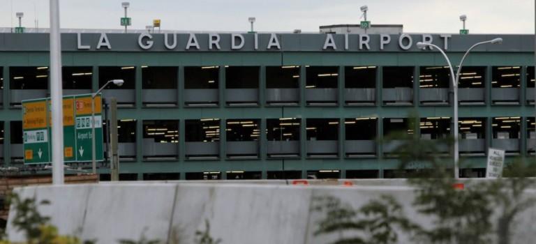 紐約拉瓜迪亞機場安檢人員被刺激性食物熏倒:安檢站關閉一小時