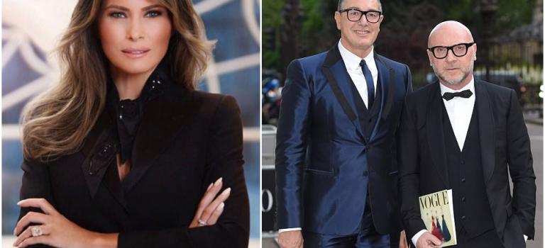 """Dolce & Gabbana設計師為""""第一夫人""""爆粗口!IG直接開罵粉絲"""