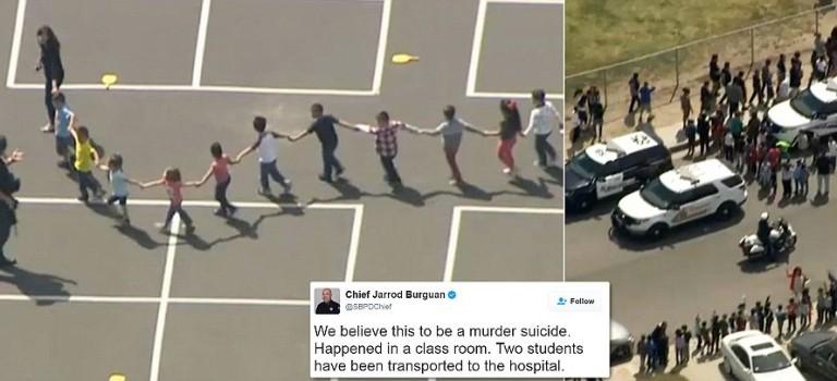 【突發新聞】加州一小學發生自殺性襲擊:2人死亡,2人受傷