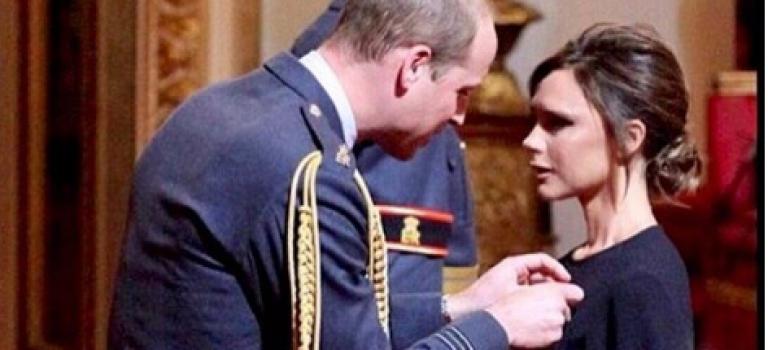 厲害的一家!繼小貝之後,貝嫂也獲英國皇家認可授予超榮譽勛章!