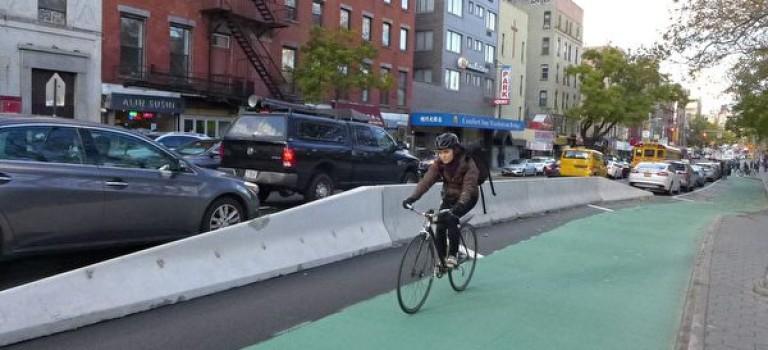 紐約交通部計劃在7大道安裝自行車道