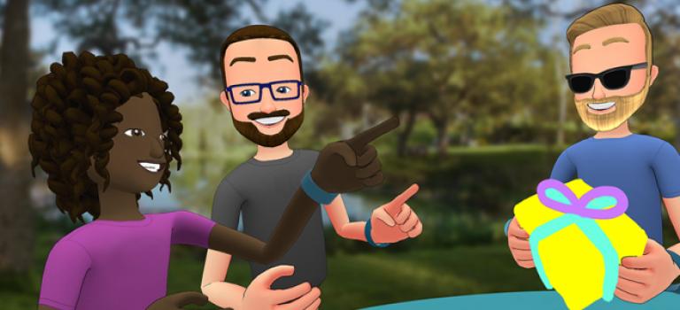 【超酷炫!】Facebook推出新App讓你在VR環境中和朋友玩耍!