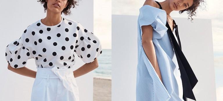 時尚達人听好囖!今夏最流行搭配色就是海洋系的藍白配!
