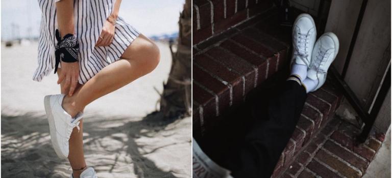 小白鞋正夯!這 9 個簡單方法,讓你的白球鞋可以一秒變全新哦!