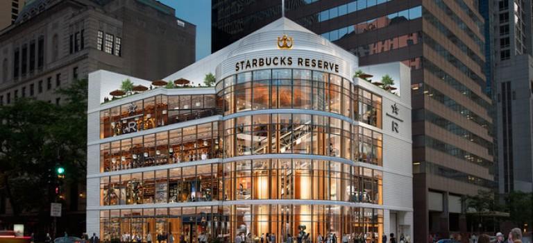 星巴克2019年將在美東增添全球第六家烘培工廠店!
