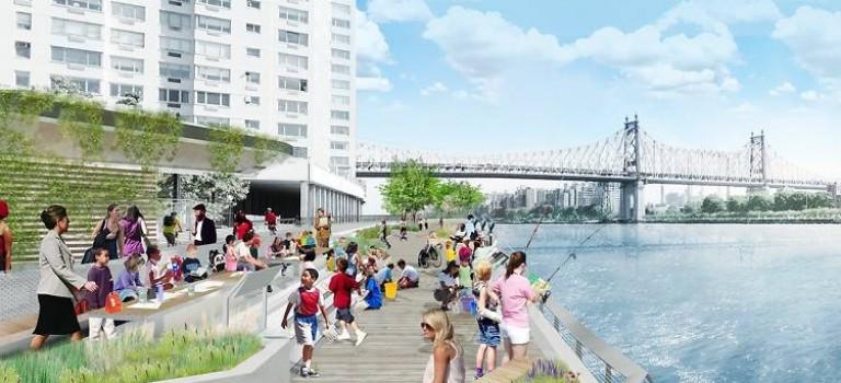 休閒好去處 – 曼哈頓東部將建新海濱公園