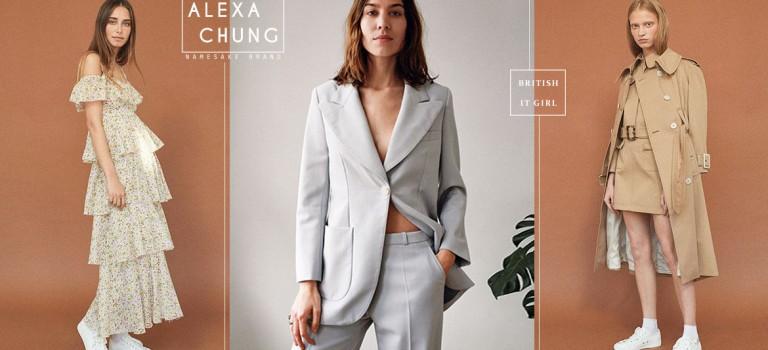 """英倫""""IT Girl"""" Alexa Chung 同名品牌上市,打造英式復古情懷"""