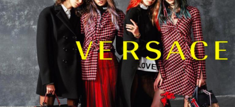新一季Versace廣告又是她!這次新面孔又是維秘天使!