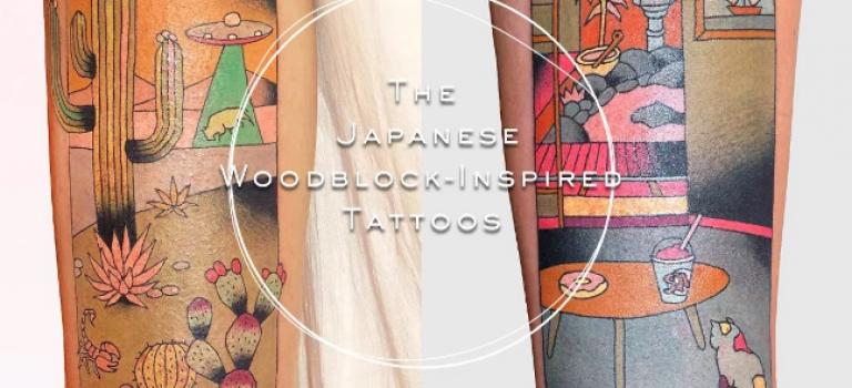 紋身控看過來!日本傳統浮世繪席捲紋身界:一門獨特的藝術!