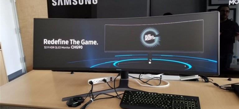 不得了!史上最寬電腦屏幕誕生!剁手也要買買買