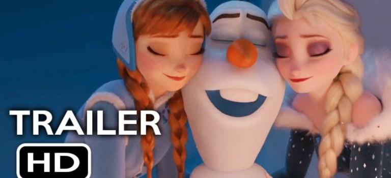《冰雪奇緣》番外篇又來啦!雪人Olaf當主角,12月正式上映!