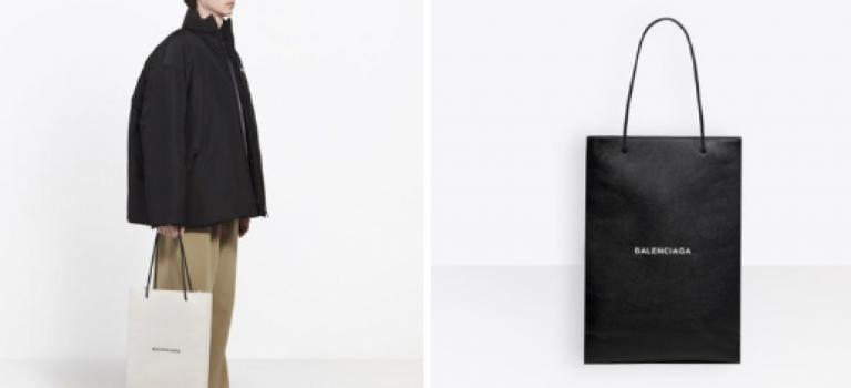 瘋了吧?Balenciaga 這個「仿紙袋」包包,竟然要價 $1320美金!