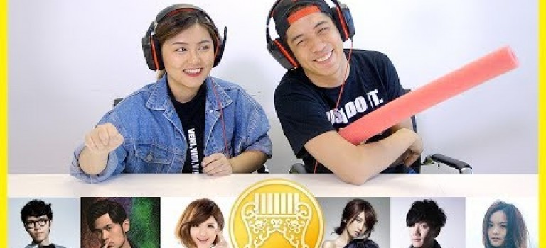 Chinese Students Guess The Golden Melody Song Challenge! 留學生猜金曲歌手歌名大對決