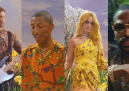 Calvin Harris新曲《Feels》MV全新發佈:聯手Pharrell Williams, Katy Perry, Big Sean三位大咖