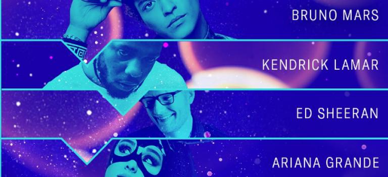MTV 年度提名名單揭曉,歷史首次不分性別:嘻哈歌手Kendrick Lamar領跑!