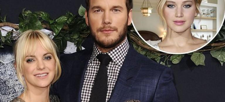 Chris Pratt宣佈和妻子結束 8 年婚姻,導火索果然是 Jennifer Lawrence?!