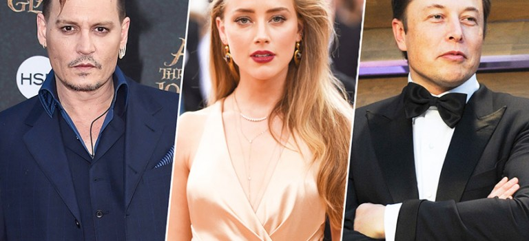 豪門夢破碎!強尼德普前妻 Amber Heard 被霸道總裁 Elon Musk 甩了…