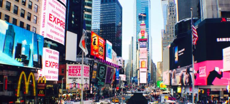 來~想在時代廣場買LED牆廣告嗎?看看新價碼出爐~先深吸一口氣!