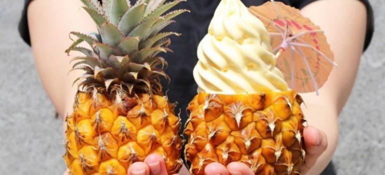 迪士尼限定版的都樂菠蘿冰淇淋來紐約啦!!