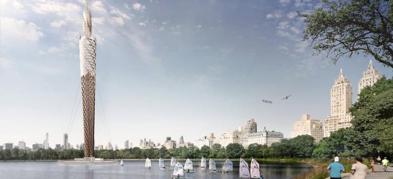 什麼?!中央公園要建全球最高木塔的消息,把紐約客搞瘋了…..