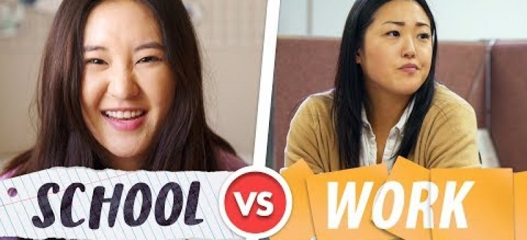 Back to SCHOOL vs Back to WORK!