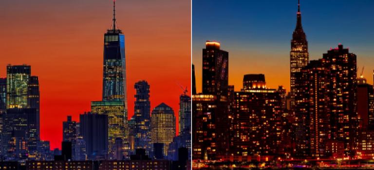 【拉斯維加斯槍案後續】紐約客時代廣場遊行呼籲控槍,帝國大廈熄燈默哀