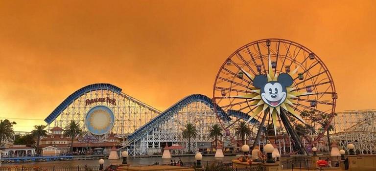 【多圖】太可怕了!加州罕見大火燒毀納帕酒莊等多個郡縣,整個天空變成橘紅色….