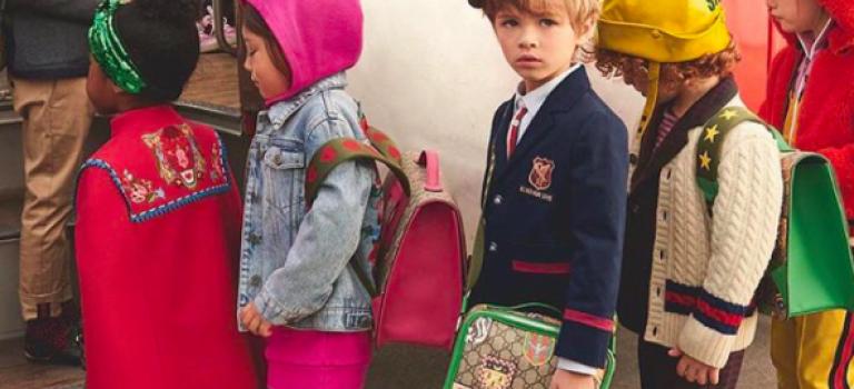 老!天!爺!Gucci這季的童裝太好看!整車的娃兒通通給我打包!