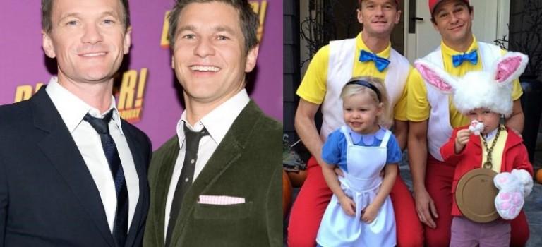 誰說兩個爸爸超奇怪?!Neil Patrick Harris 歷年萬聖節裝扮大公開:絕對是最走心的完美家庭!