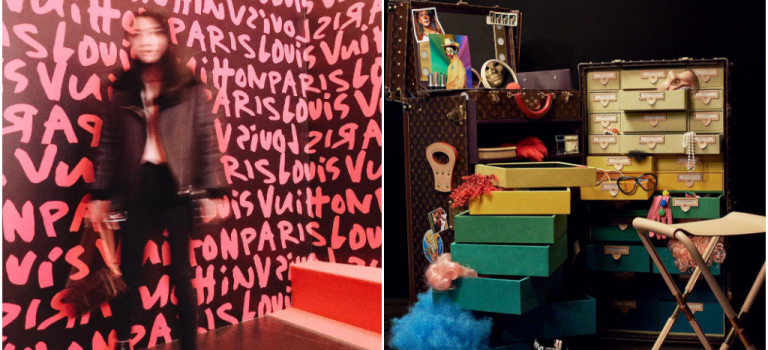 Louis Vuitton 特別展駕到紐約!互動展覽,拍照到手軟~~