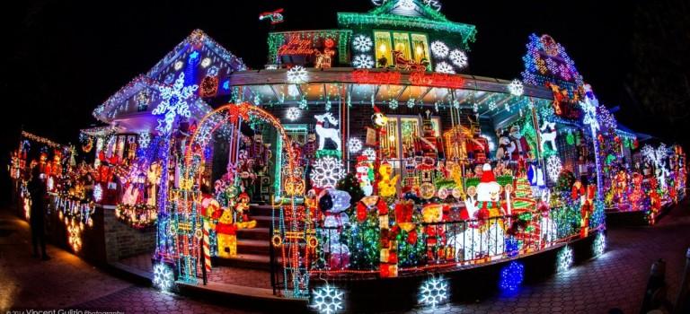 耶誕節特定 | 你還沒有參觀過紐約的「聖誕小鎮」嗎?