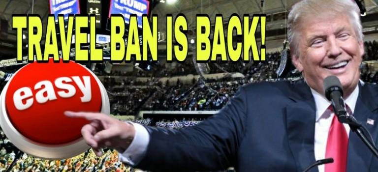 """又炸了!美最高法院通過川普""""旅行禁令"""",將全面生效"""