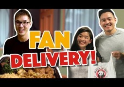 Delivering Panda Express to Our Fans!