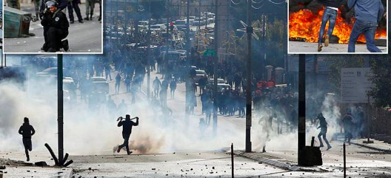 他幹得好事!以色列發生嚴重汽油彈衝突!川普回應:不關我的事!
