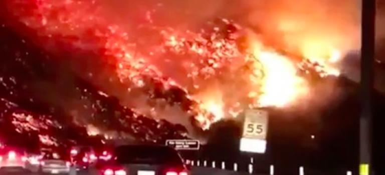 比想像嚴重!加州大火延燒五萬英畝!眾星報平安呼籲捐款救災!