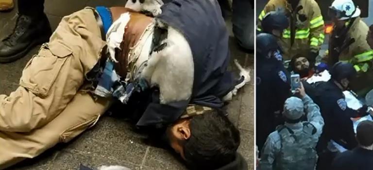 【突發】紐約巴士總站發生爆炸,疑似自殺式恐怖攻擊!爆炸當時視頻曝光