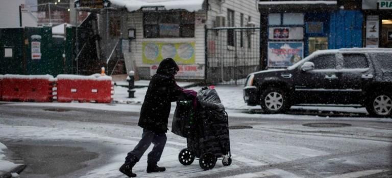 紐約嚴冬正式開始!接下來一周,氣溫都將持續零下