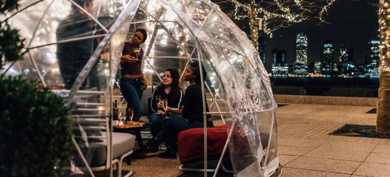 """紐約超人氣""""氣泡酒吧""""又多一間!這次可以看新世貿和哈德遜河景啦~"""