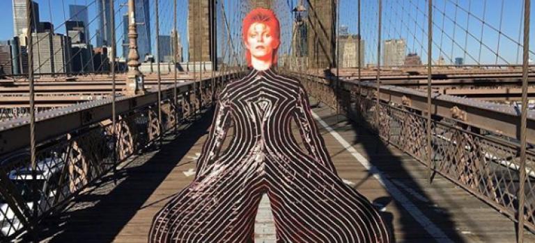 David Bowie 回顧展全球最後一站登陸紐約!流行藝術的盛宴不要錯過~