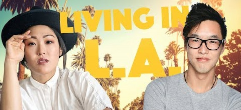L.A. EXPECTATIONS VS REALITY  ft. Amanda Suk – Lunch Break!