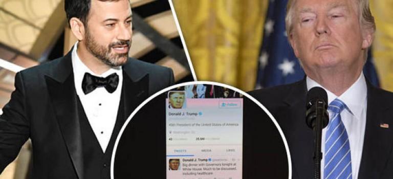 奧斯卡收視創新低遭川普諷刺,主持人這樣回擊!網友大呼過癮