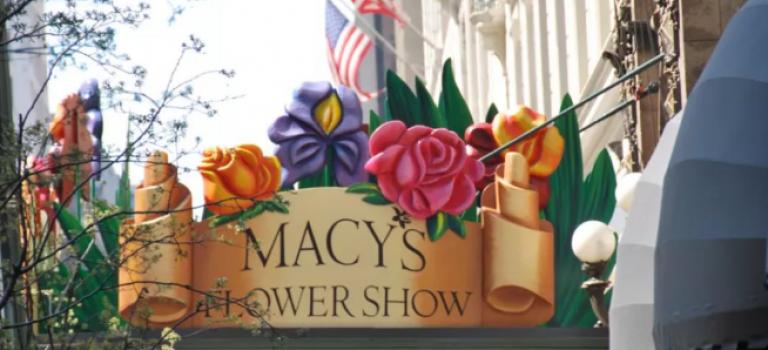 雖然紐約春天遙遙無期,但梅西百貨的花展,還是要看的!